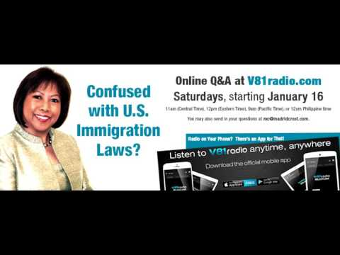 Episode 02   US Visa Law (News & FAQs) with Atty. Maricar Madrid Crost