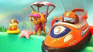 Щенячий Патруль - Щенки Водные мини фигуры. Paw Patrol mini pups Sea Patrol