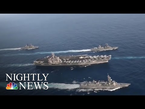 Thumbnail: US Aircraft Carrier To North Korea: Donald Trump Admin. Sends Mixed Messages | NBC Nightly News