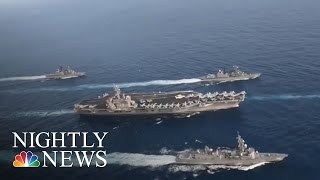 US Aircraft Carrier To North Korea: Donald Trump Admin. Sends Mixed Messages | NBC Nightly News
