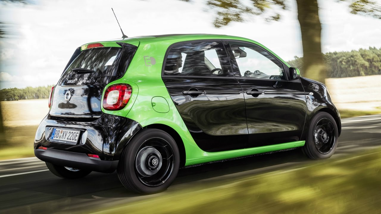 2017 Smart Forfour Electric Drive Perfect City Car