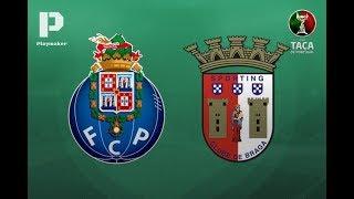 FC PORTO 2 x 0 SC BRAGA - TAÇA DE PORTUGAL 1ª MÃO MEIAS FINAIS (RELATO)