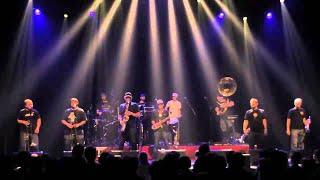 Youngblood Brass Band Live at Het Depot, Leuven, Belgium, 30 Nov 2013