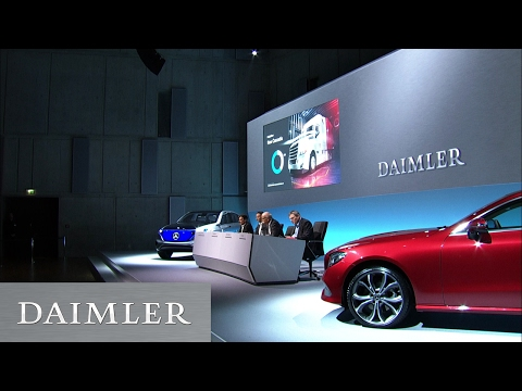 Daimler AG Jahrespressekonferenz