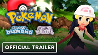<b>Pokemon</b> Brilliant Diamond & Shining Pearl - Official Trailer