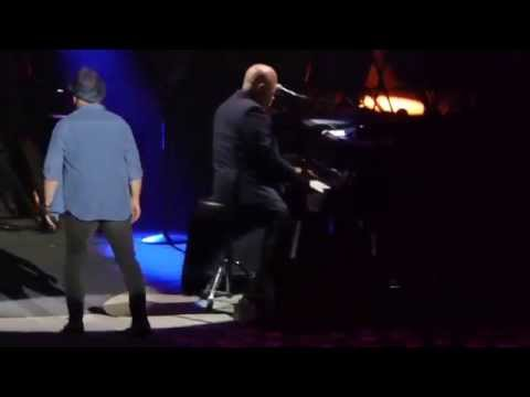 "Billy Joel - ""Homeward Bound/Late in the Evening"" (w/Paul Simon) live @ Nassau Coliseum 8-4-2015"