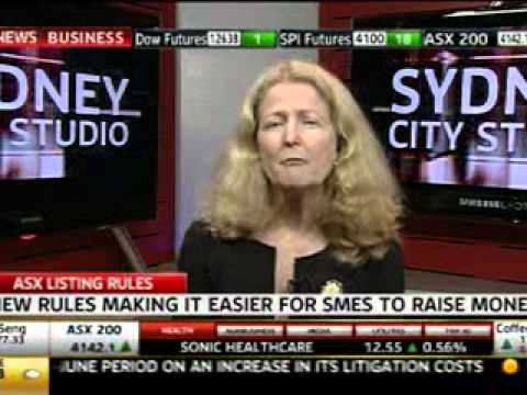 ASX Listing Rules - Sky News interview w/ Judith Fox 27 Aug 2012