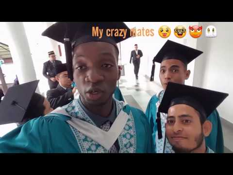 My Graduation Day in I.I.U.M  (International,Islamic, University of Malaysia).