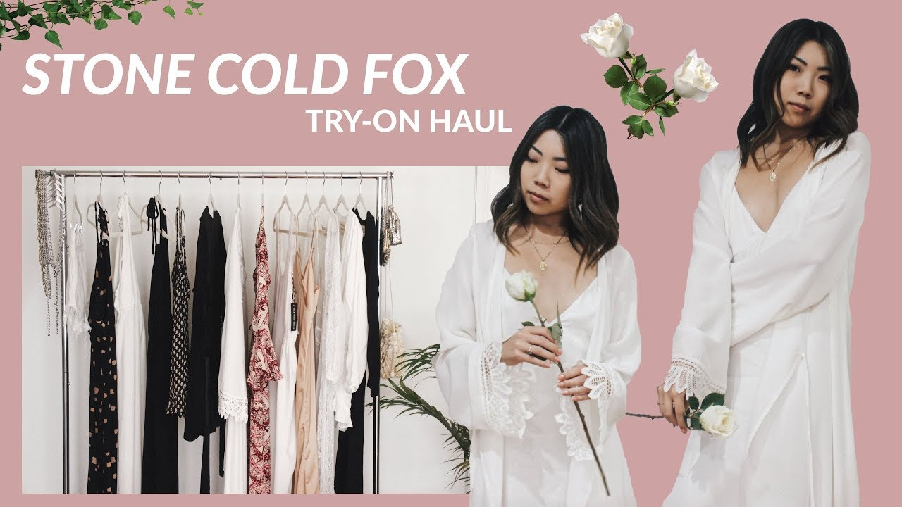 STONE COLD FOX | Personal Haul (Love Jumper, Onyx Gown, Fox Robe) + ...