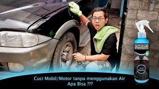 Wash Waterless Shampoo Sabun Sampo Pencuci Mobil Motor - Cuci Tanpa Air dengan Efek daun talas