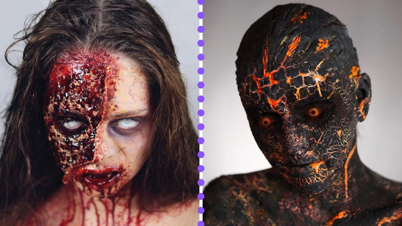 Creepy Halloween Makeup and Costume Ideas | Terrifying Halloween Makeup Tutorials 2020
