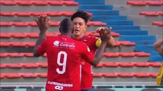Medellín vs. Once Caldas (2-2) | Liga Aguila 2018-II | Fecha 7