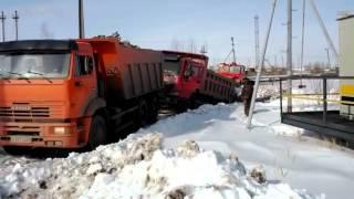 Камаз '' выдернул '' китайца  KamAZ pulled China Truck