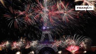 🎆 Le feu d'artifice du 14 juillet à la tour Eiffel