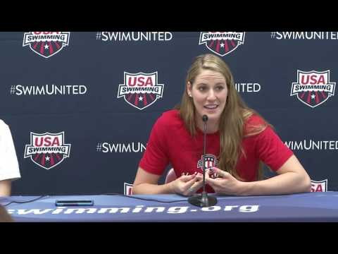 2016 Olympic Training Camp Media Day Press Conference: Missy Franklin