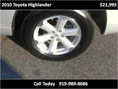 2010 toyota highlander used cars smithfield nc youtube for Boykin motors smithfield nc