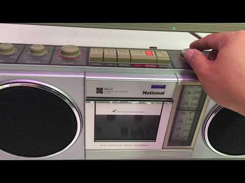 National RX-4930 Radio Cassette Boombox (ALC)