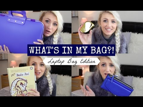 What's In My Laptop Bag?!