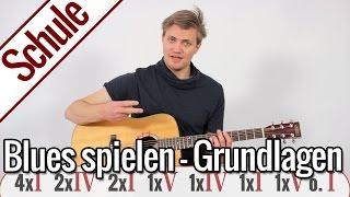 Blues spielen - Grundlagen | Gitarrenschule