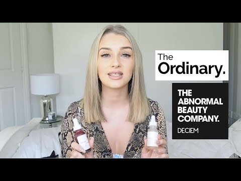 HOW TO USE THE ORDINARY PRODUCTS- Deciem Skincare Routine For Clear, Acne Free, Glowing Skin