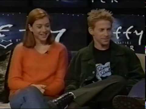 Buffy extra  Seth Green & Alyson Hannigan  On Loveline