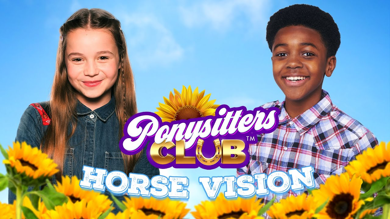 PONYSITTERS CLUB - HORSE'S EYES!