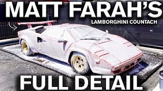 Full Detail Lamborghini Countach: Matt Farah