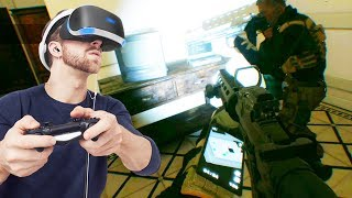 RAINBOW SIX SIEGE STYLE VR GAME?! (4v4 Tactical Virtual Reality Shooter)