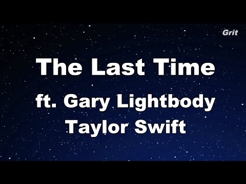 The Last Time ft. Gary Lightbody - Taylor Swift Karaoke【No Guide Melody】