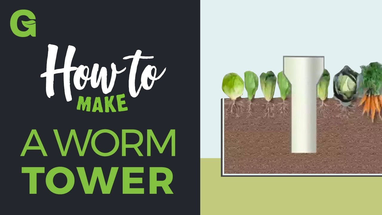 How To Build A Worm Tower Youtube