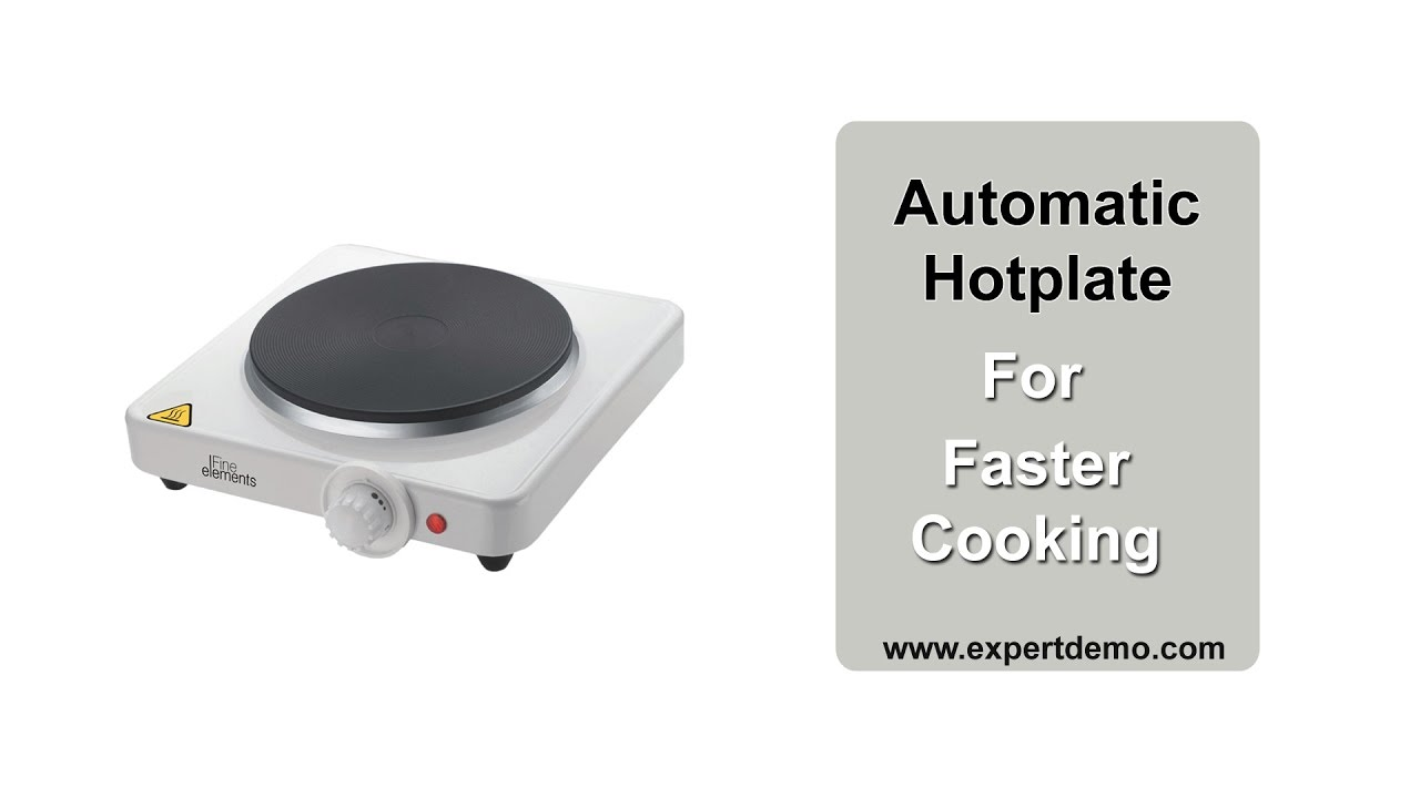 Electric Hot Plate Cooktop Perfect Alternate For Your Kitchen