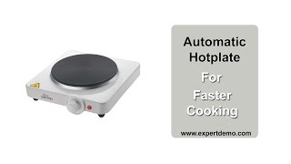 Electric Hot Plate Cooktop: pe…
