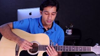 Ek Din Teri Raahon Mein - Naqaab - Intro Guitar Lesson for Beginners By VEER KUMAR