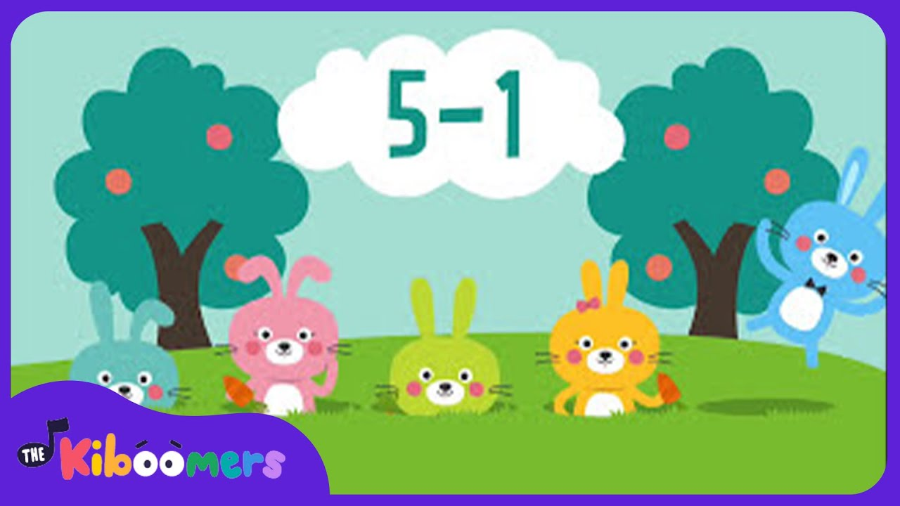 five little bunnies song for kids easter bunny song nursery