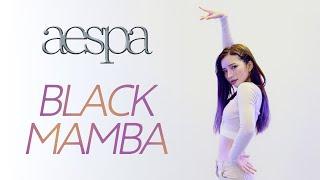 【ダンス】aespa 에스파 'Black Mamba' Dance Cover  【踊ってみた】