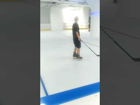 Aupto synthetic ice rink