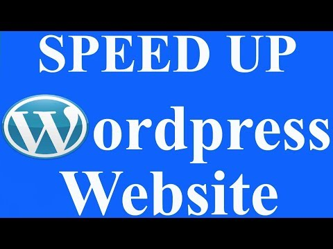 WordPress Speed। Increase Website Speed।Speed Up WordPress।how to page speed। WordPress Optimization