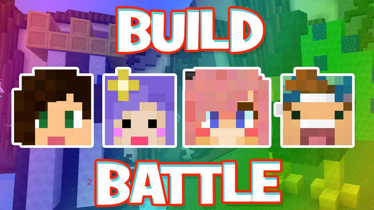 how to get build battle on minecraft pe 2017
