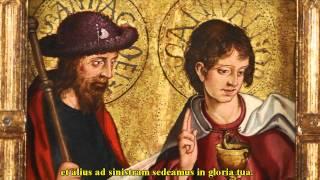 Codex Callixtinus - Jacobus et Johannes