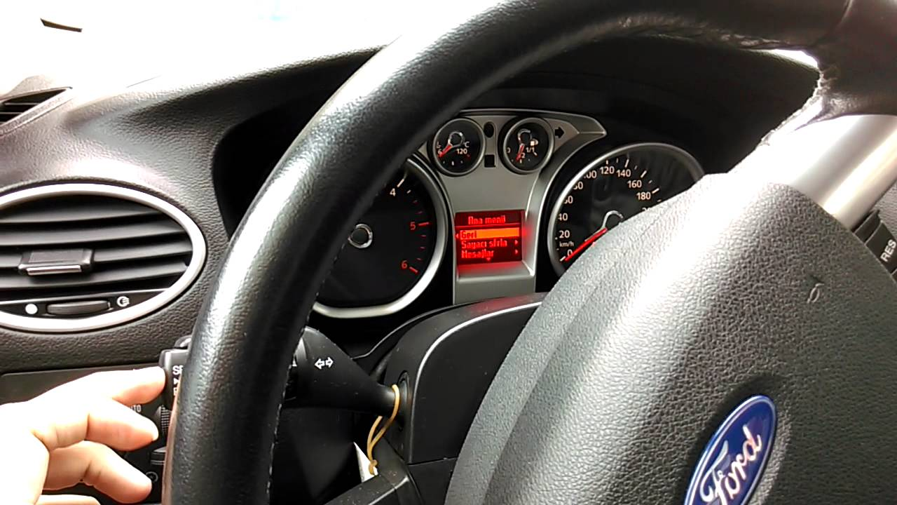 ford focus mk2 buttons