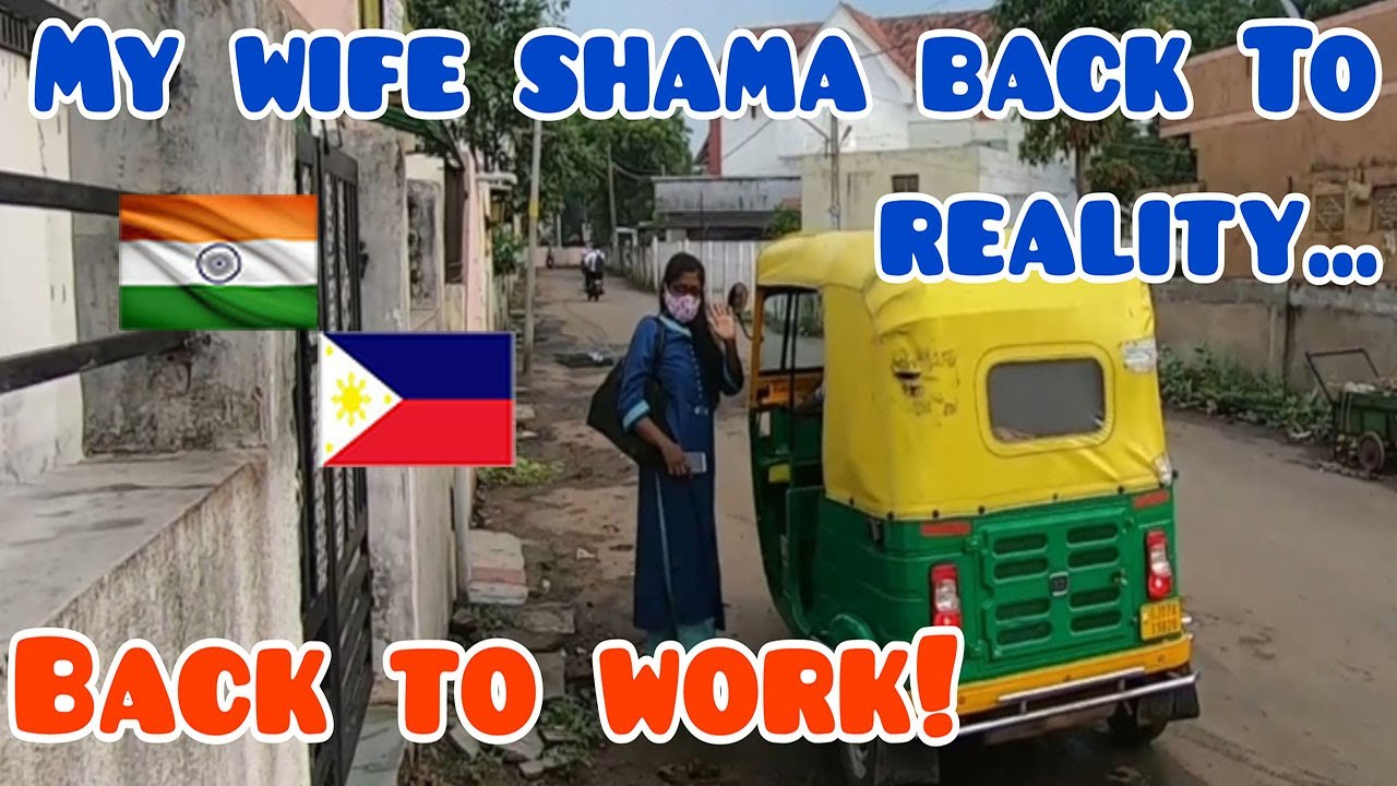 FILIPINO MARRIED TO INDIAN WOMAN. MY WIFE SHAMA BACK TO WORK & HOUSE DAD STAYS AT HOME WITH DAUGHTER