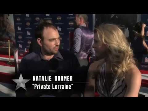 Natalie Dormer 2011 Captain America The First Avenger L.A. Premiere Interview
