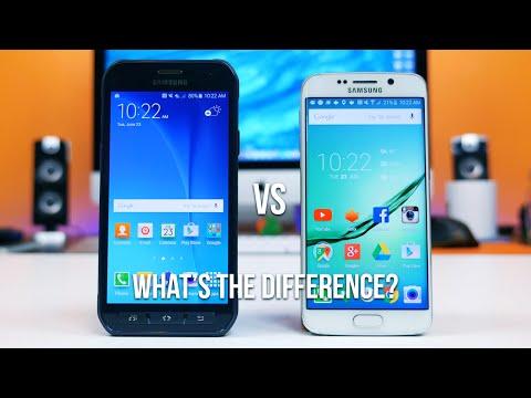 Galaxy S6 Active vs Galaxy S6 edge - What