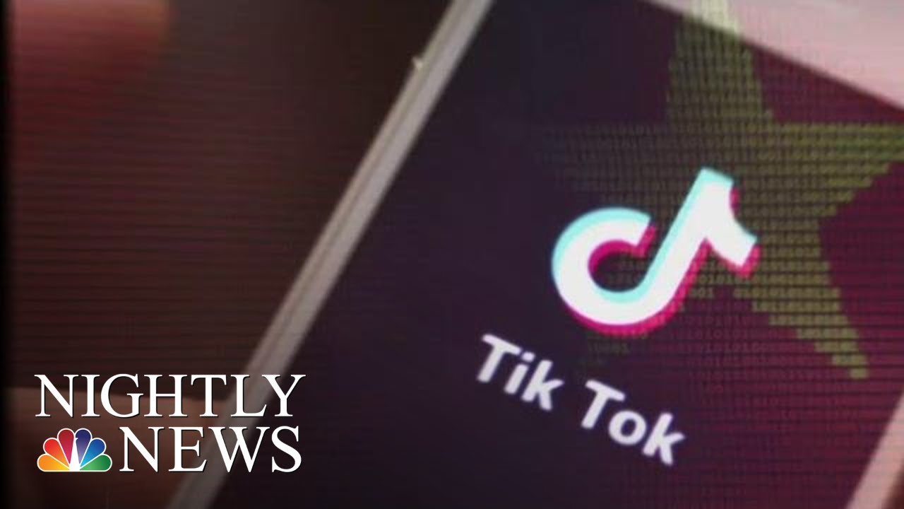 Growing Concern Over TikTok, World's Most Downloaded App | NBC Nightly News