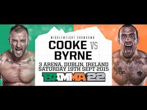 BAMMA 22: (Prelim) Conor Cooke vs Paul Byrne