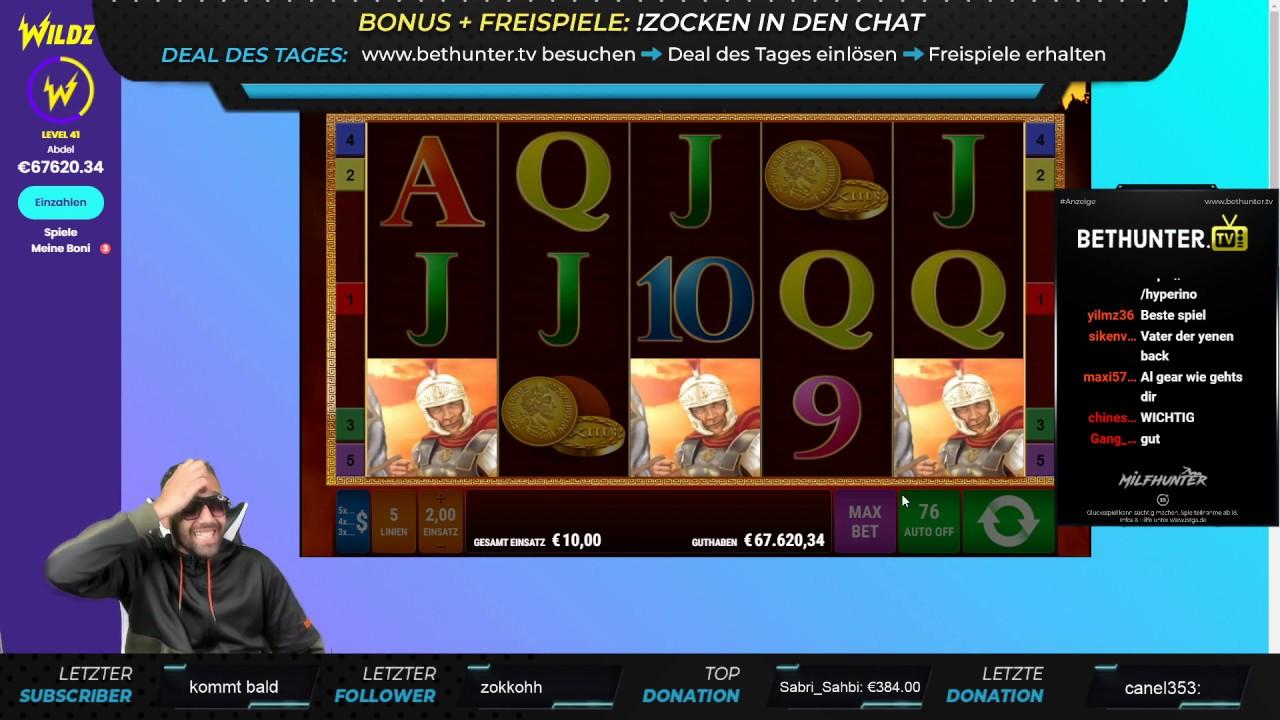 10€ FREISPIELE in Roman Legion !!! | OMG | Online Casino | Al Gear Stream Highlight