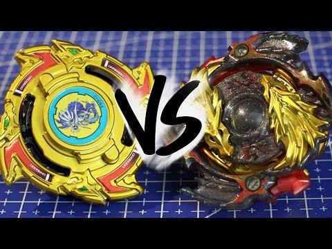 BATTLE: Dragoon S .W.X GOLD EDITION VS Lost Longinus .N.Sp GOLD DRAGON VER. - Beyblade Burst!