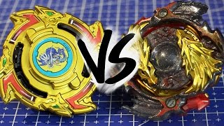 Battle: Dragoon S .w.x Gold Edition Vs Lost Longinus .n.sp Gold Dragon Ver. - Beyblade Burst!