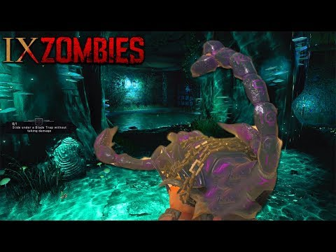 BLACK OPS 4 ZOMBIES - IX BOSS FIGHT FULL EASTER EGG COMPLETE GAMEPLAY (Black Ops 4 Easter Egg Hunt)