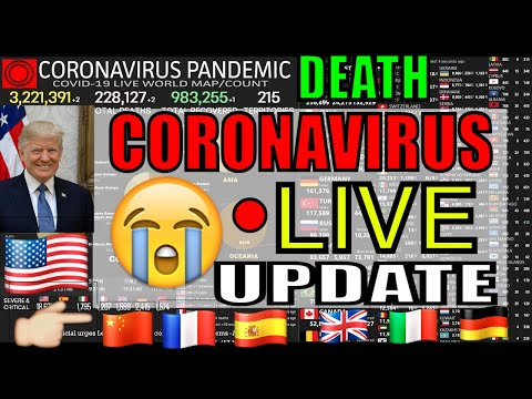 [LIVE] CORONAVIRUS Pandemic: Real Time Counter, World Map, News – CHINA VIRUS – TODAY BREAKING NEWS